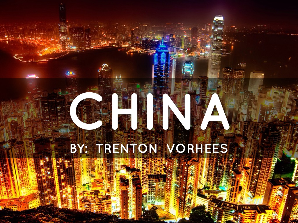 5 Geographical Features Of China By Trenton Vorhees