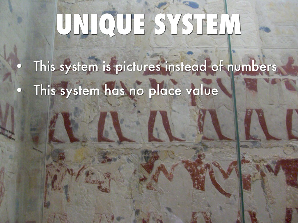 Egypt Numeration System By Mesiah Evans