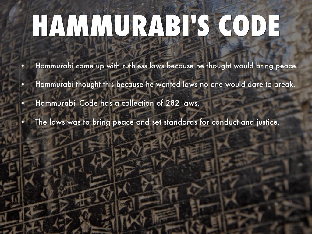 Hammurabi Code Of Laws Code Of Hammurabi Explained
