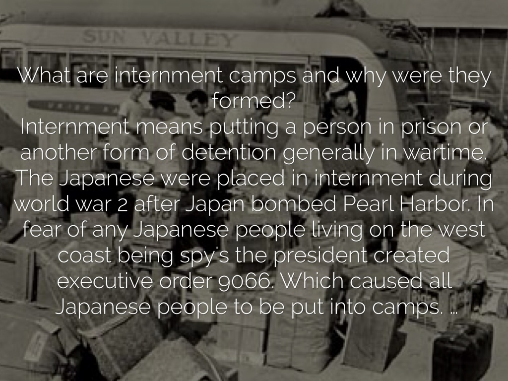 Internment Vs Concentration By D J