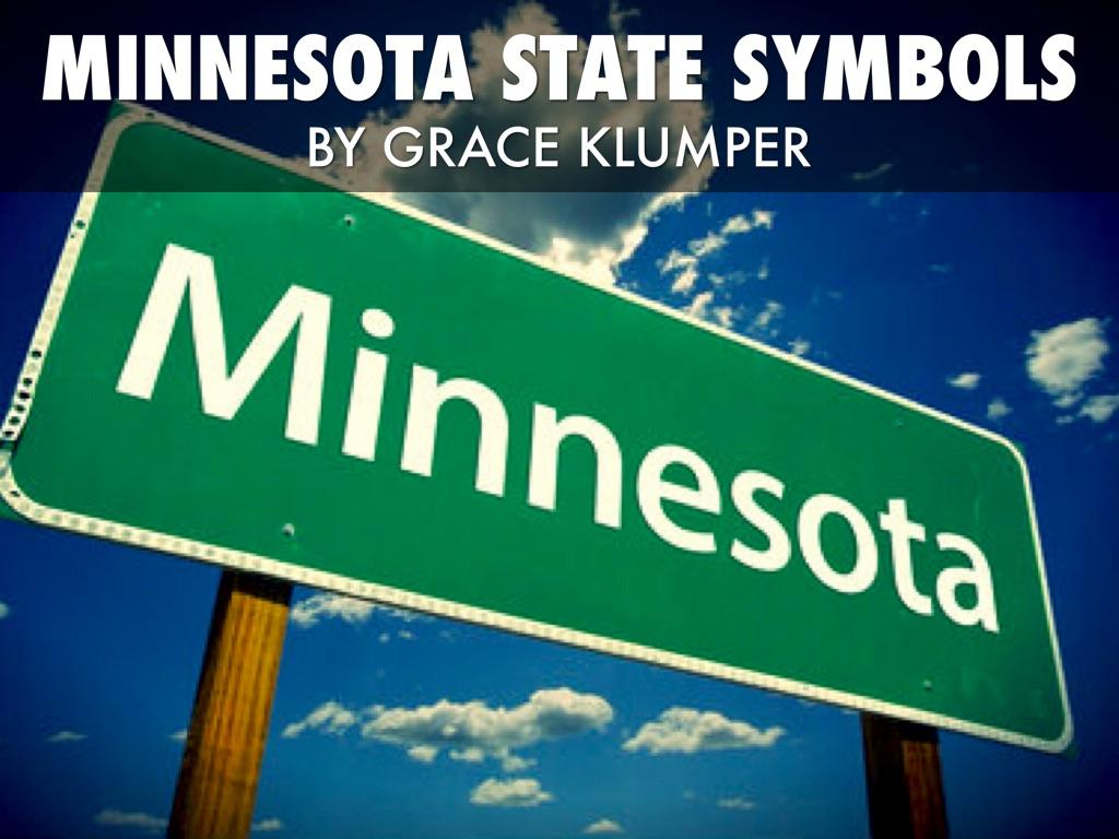 Minnesota S State Symbols By Grace Klumper