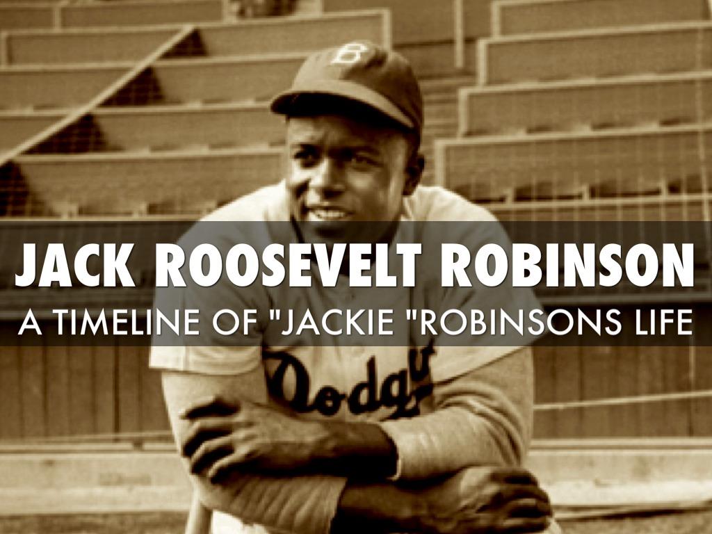 Jackie Robinson Life Time Line By Justin Ojeda