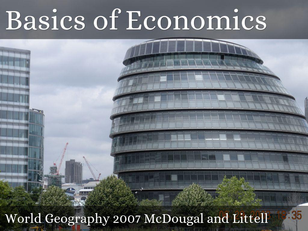 Basics Of Economics By Patty Wilcox