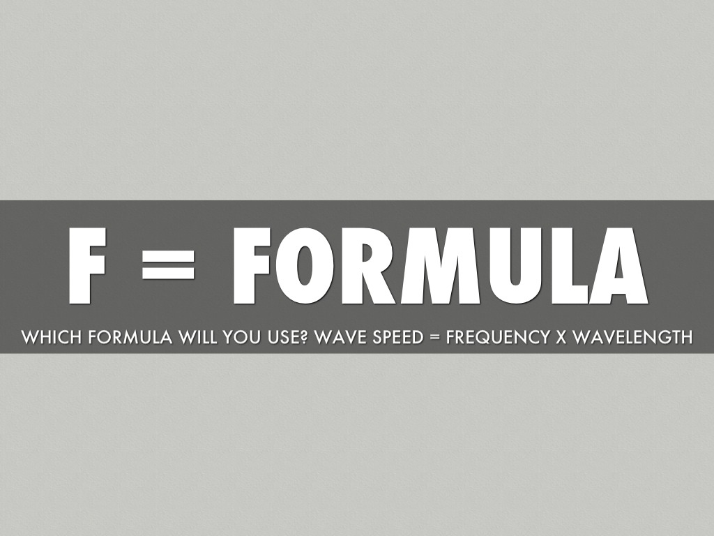 Wavelength Velocity Frequency By Chantel Ingraffia