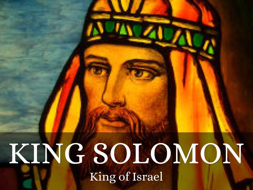 King Solomon By Isabella Kalivas