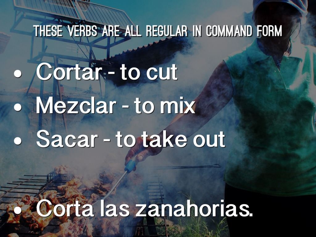 Affirmative Informal Commands By Franklin Spanish