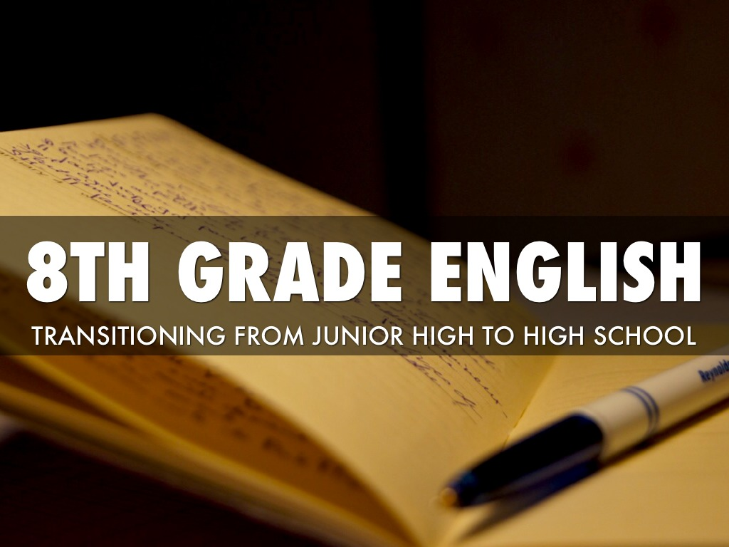 Welcome To 8th Grade English By Marjorie Gallagher