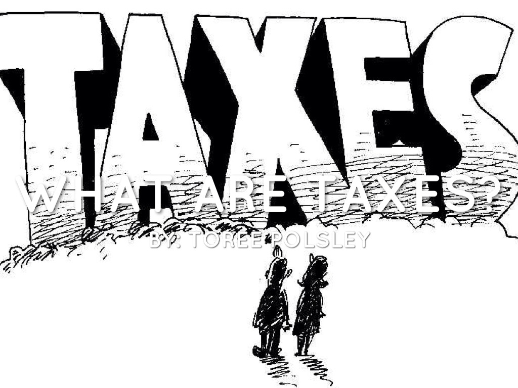 Type Of Taxes By Toree Polsley