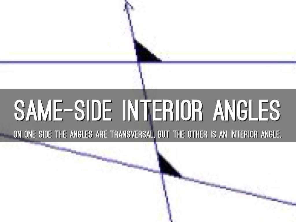 Alternate Interior Angles Examples In Real Life