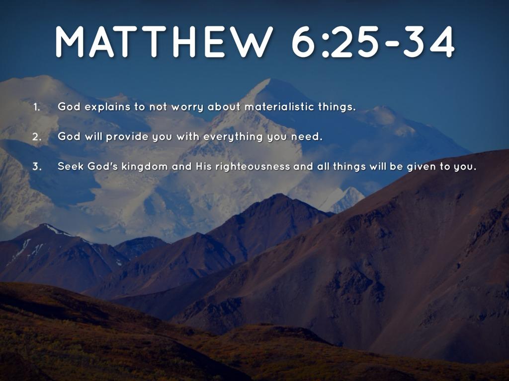 Sermon On The Mount Period 3