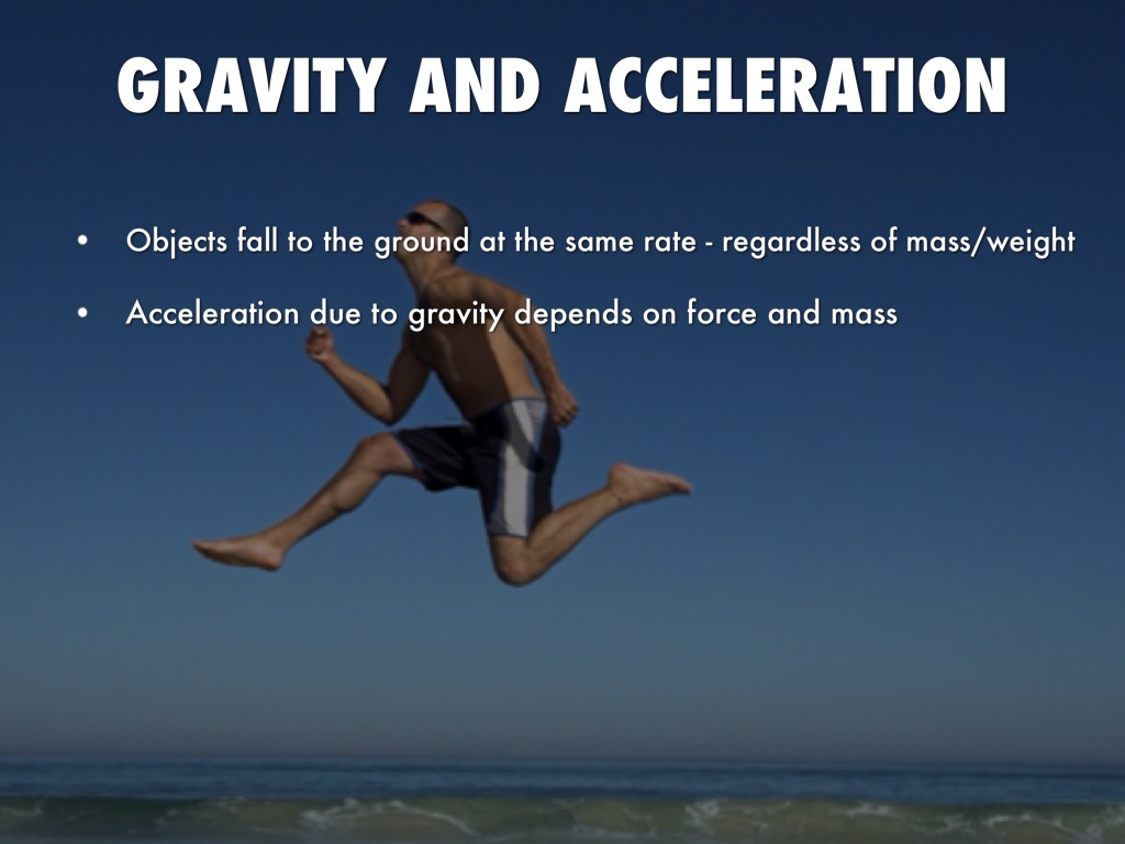 Gravity And Motion By Ryan Li