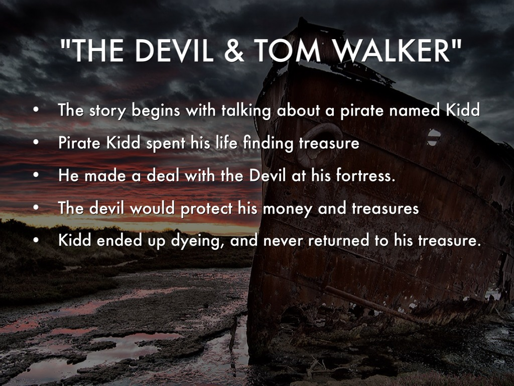 Romanticism In The Devil And Tom Walker Financial