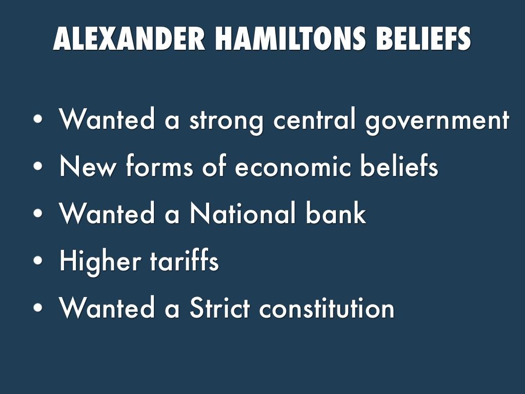 Thomas Jefferson Vs Alexander Hamilton By Fyimffmjy