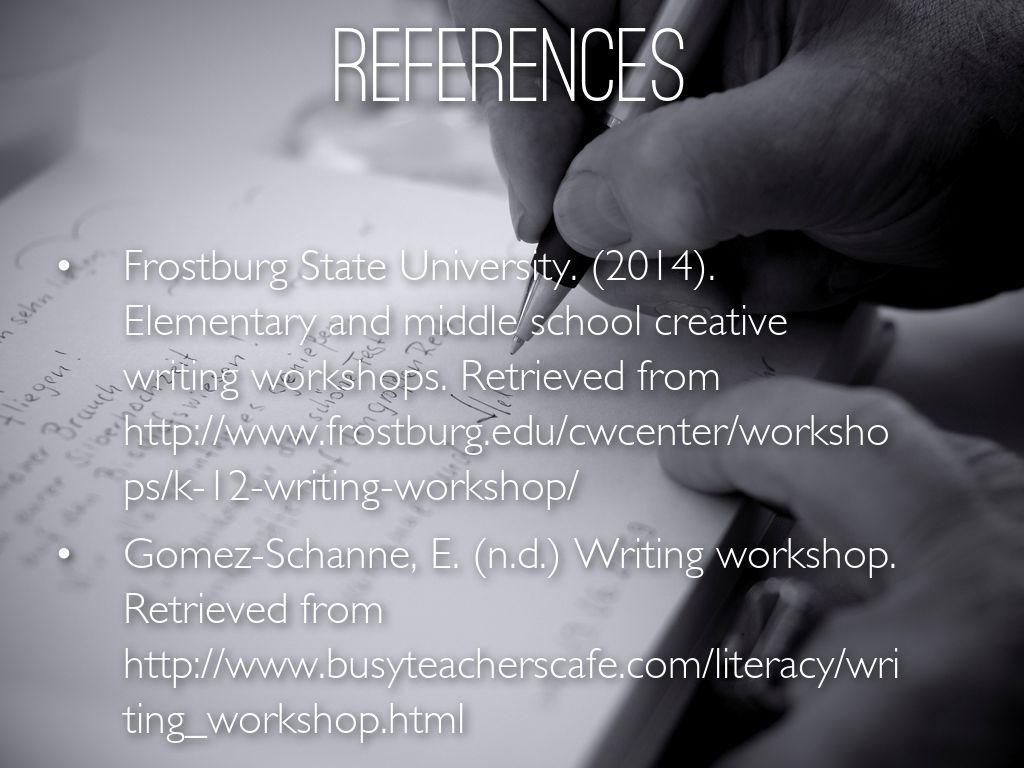 Writer S Workshops By Brit Biesecker