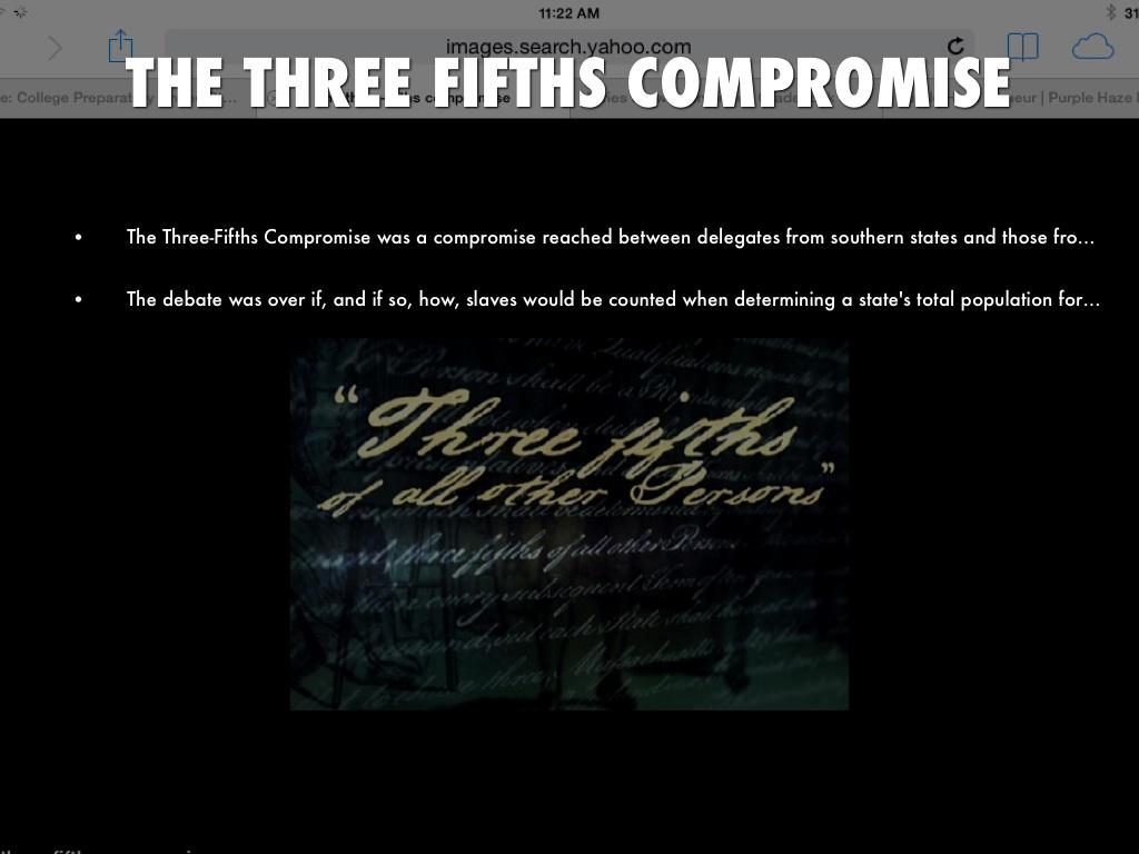The Great Compromise By Enrique Balderas
