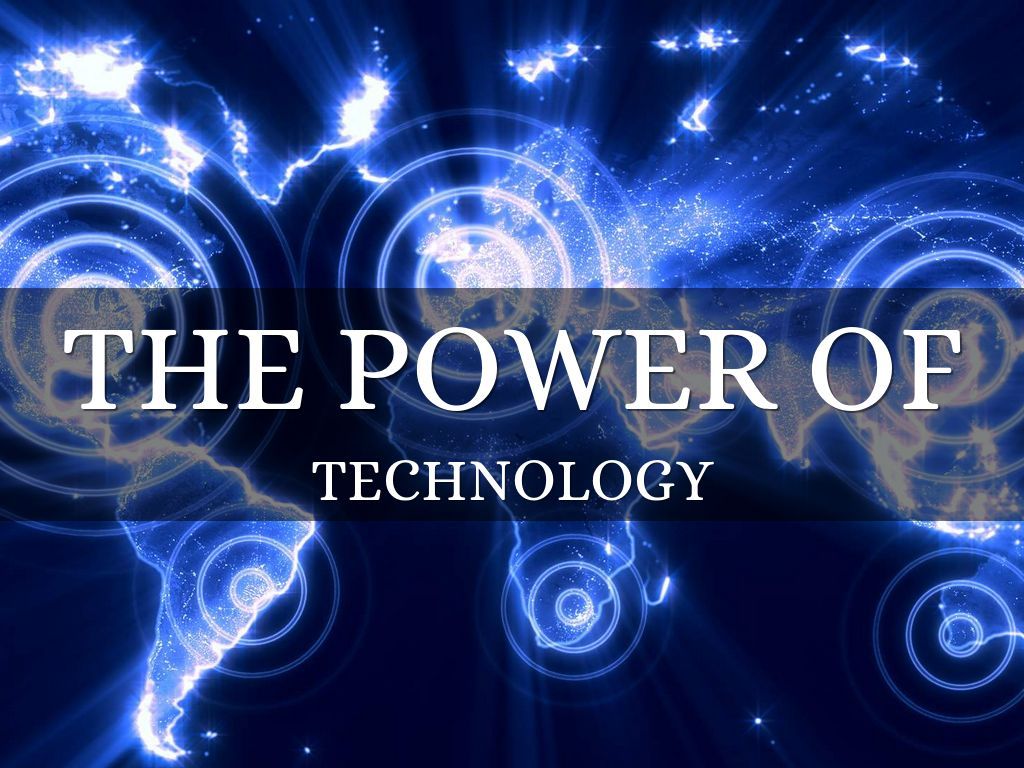 The Power Of Technology By Lindsay Vernier
