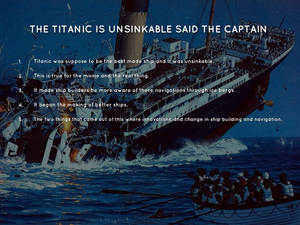Titanic By Pete Townsend