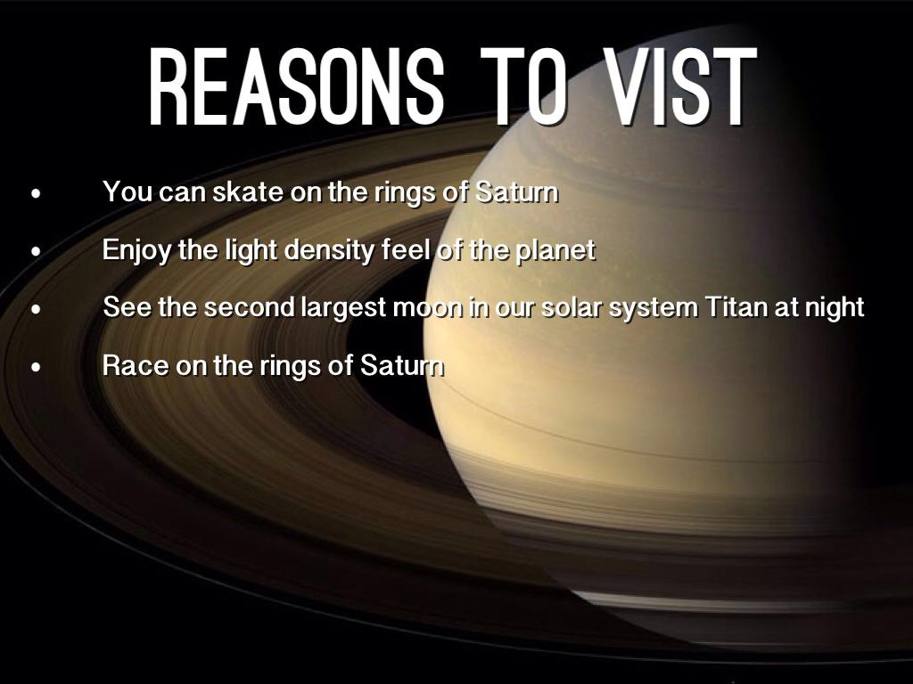 Saturn Planet Project By Keyshawn Slade