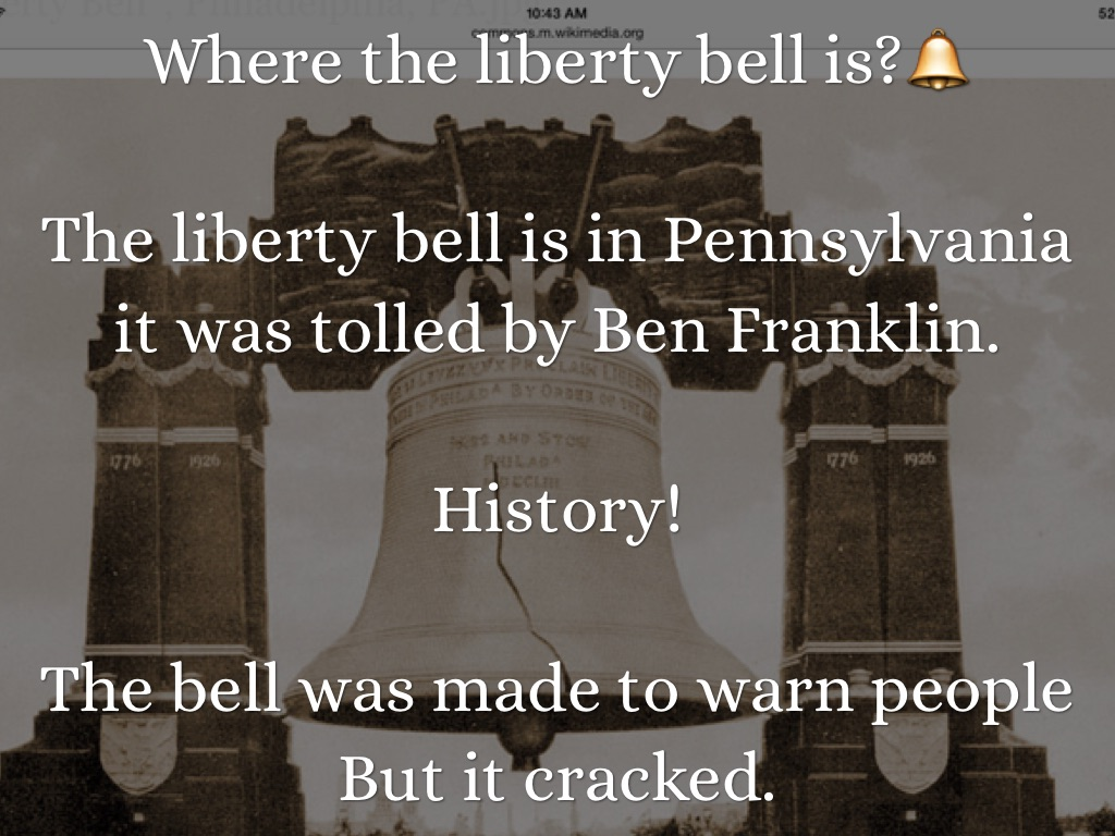 Liberty Bell By Amber Burke