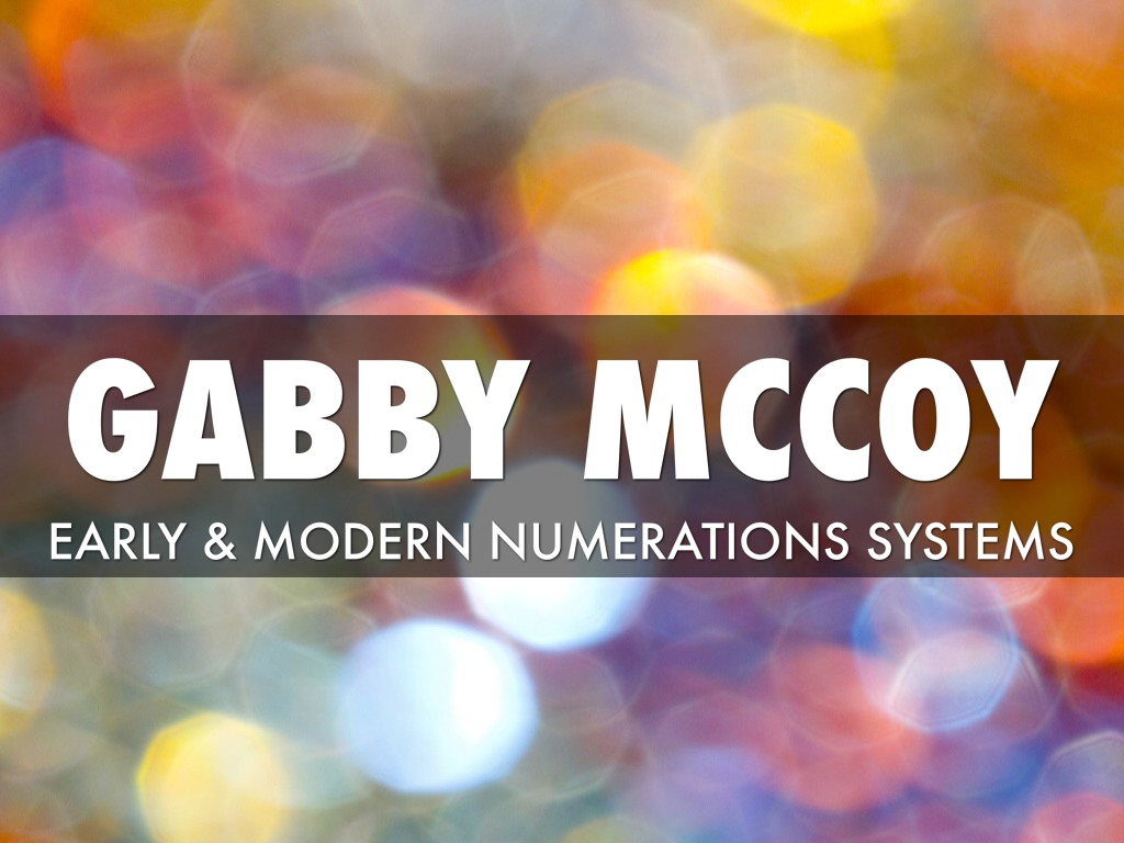 Early Amp Modern Numeration System Activity By Gabby