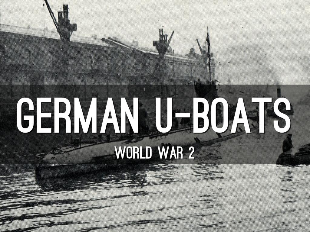 German U Boat By Brock Chambers