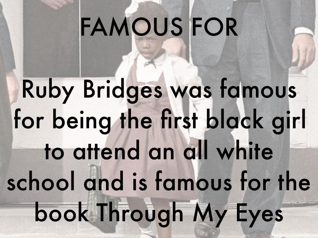 Ruby Bridges By Tirjoh