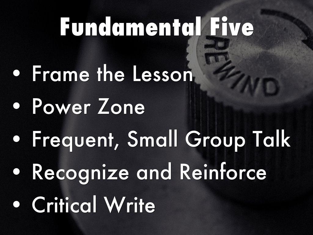 Fundamental Five By Nancy Shipley