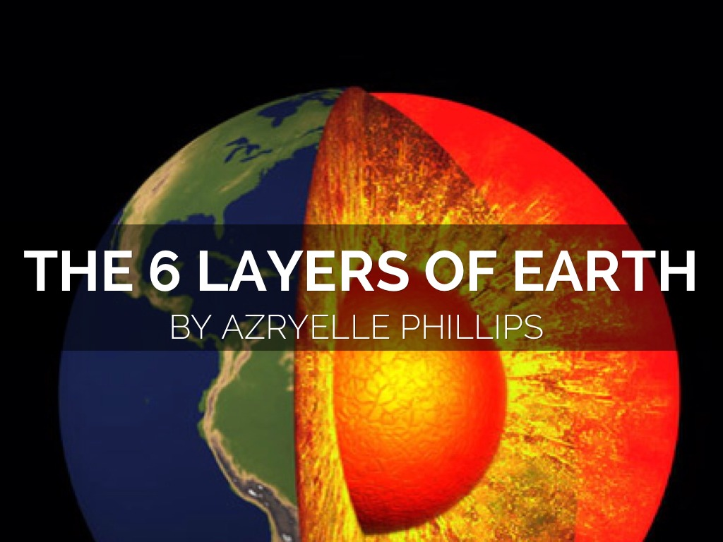 The 6 Layers Of Earth By Azryellephillips