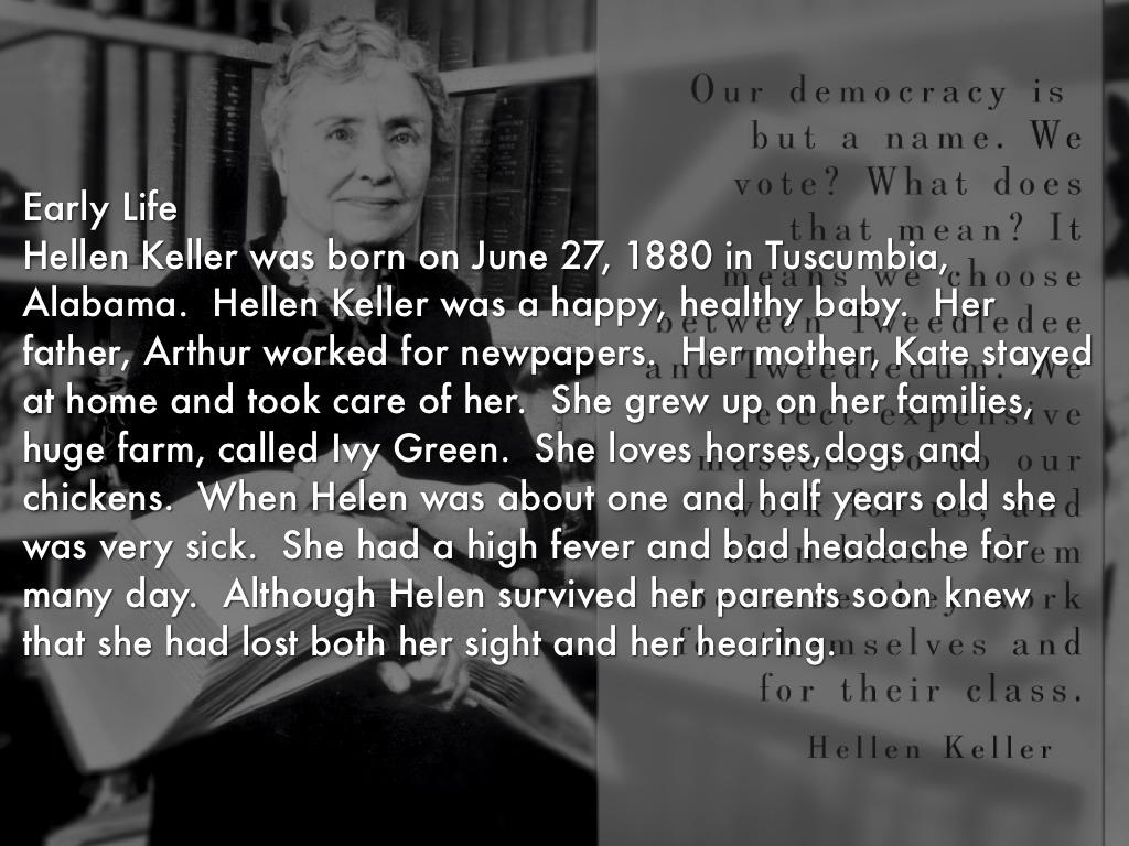 Helen Keller By Grivera
