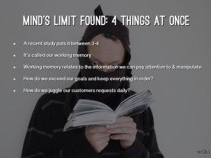 Image result for Mind's Limit Found: 4 Things at Once