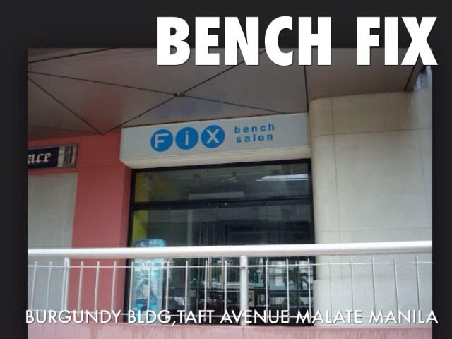 Bench  Fix  by Raemond Raphael Bolisay