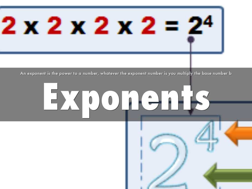 Exponents By Mswnbps Juliat