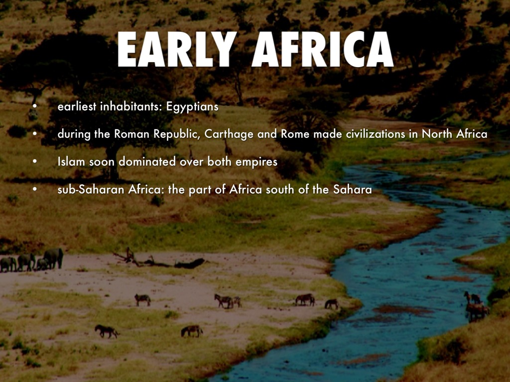 Ancient African Civilization By Mary Caroline Waldrop