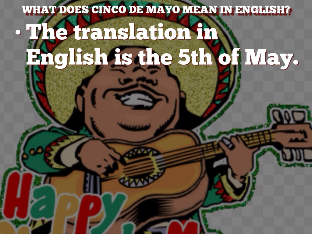 What Does Cinco De Mayo Mean In English