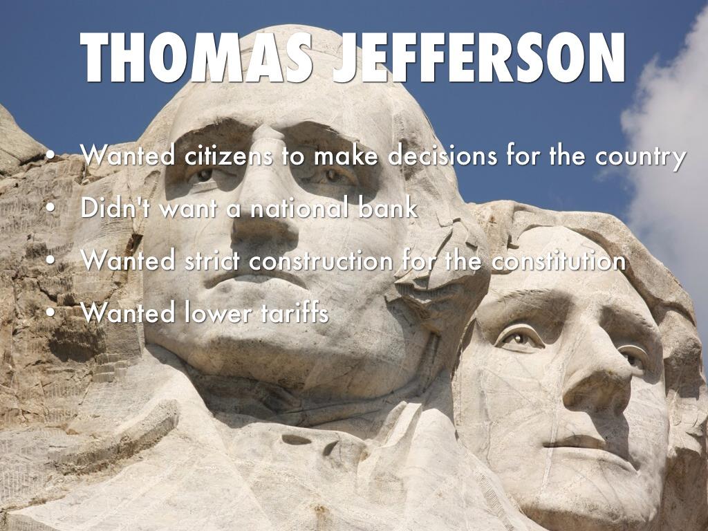 Alexander Hamilton Vs Thomas Jefferson By Jake