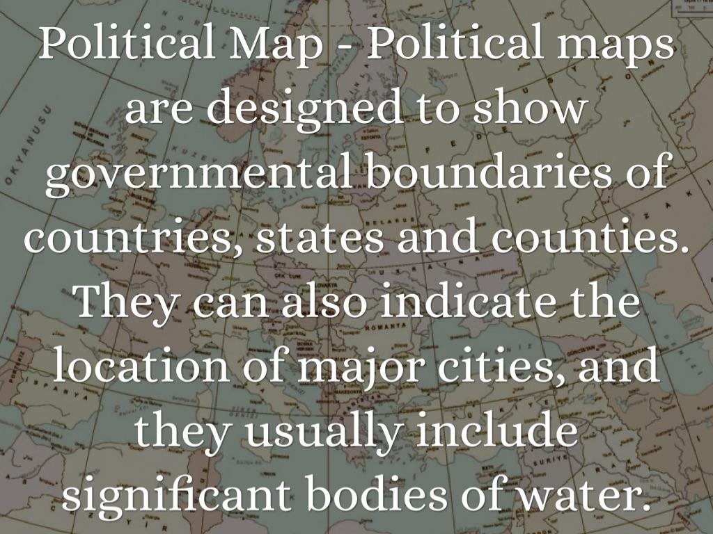 Map Skills Vocabulary By Emily Weir