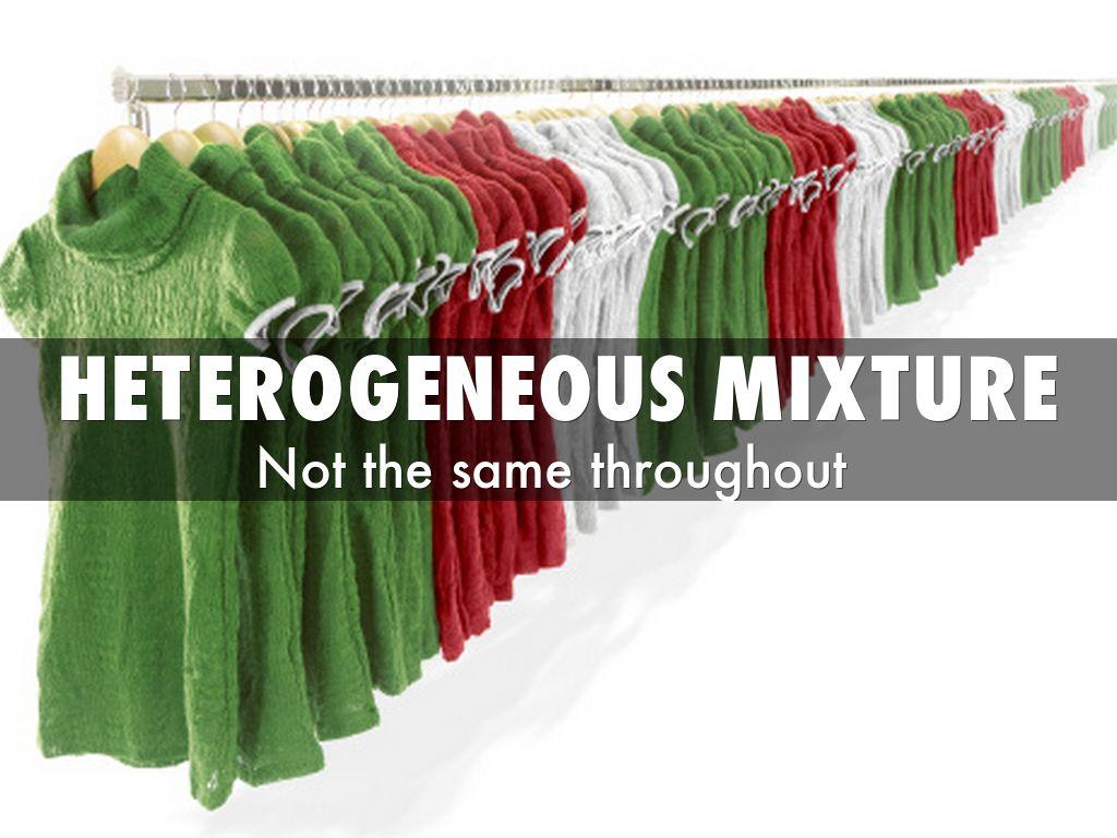 Homogeneous Mixture By Gonzjose