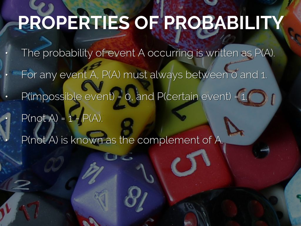 Probability And Chance By Dan Coleman