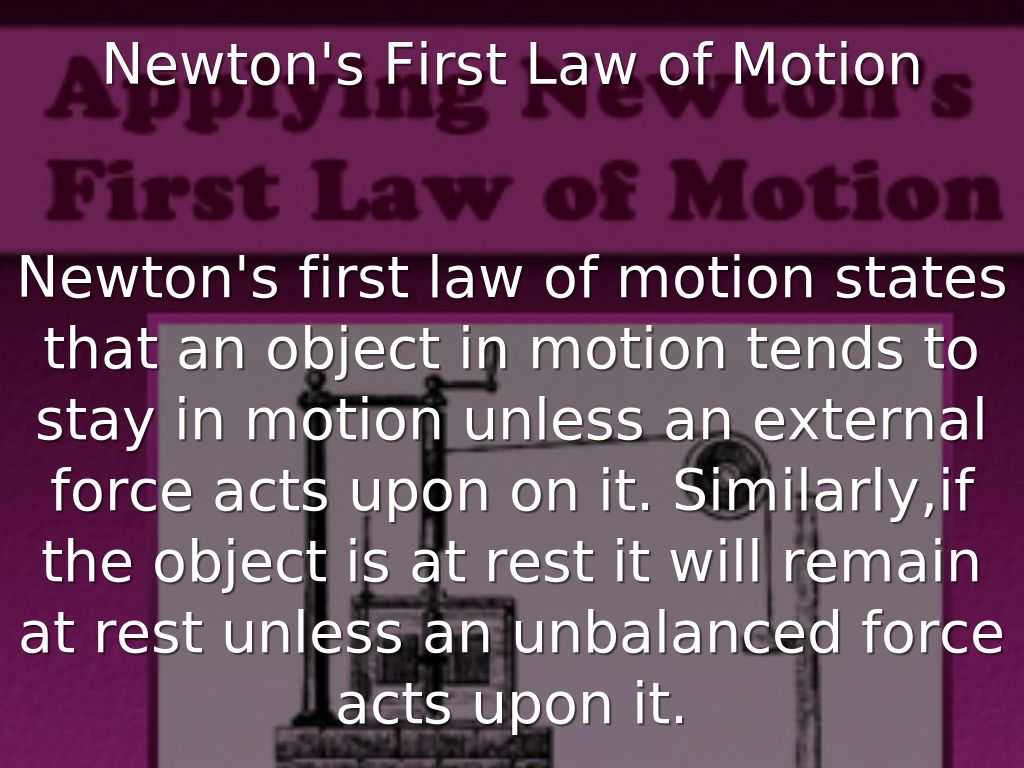 Newton S Laws By Acelynneal