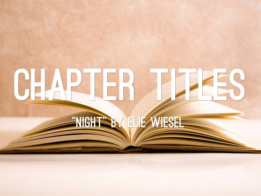 Chapter Titles By Drg