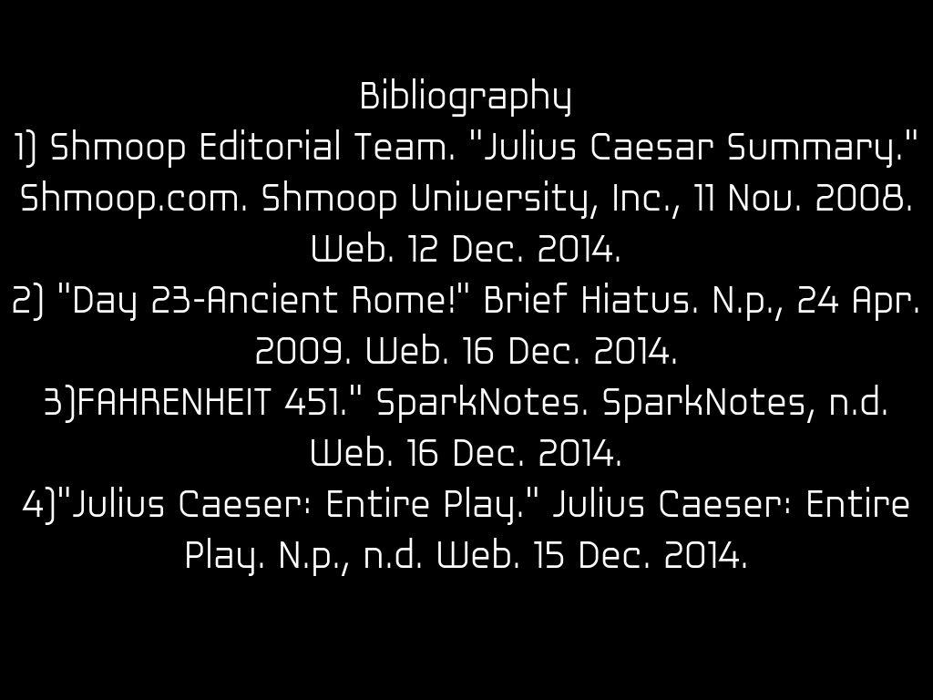 Julius Caesar By Ruanwhittington