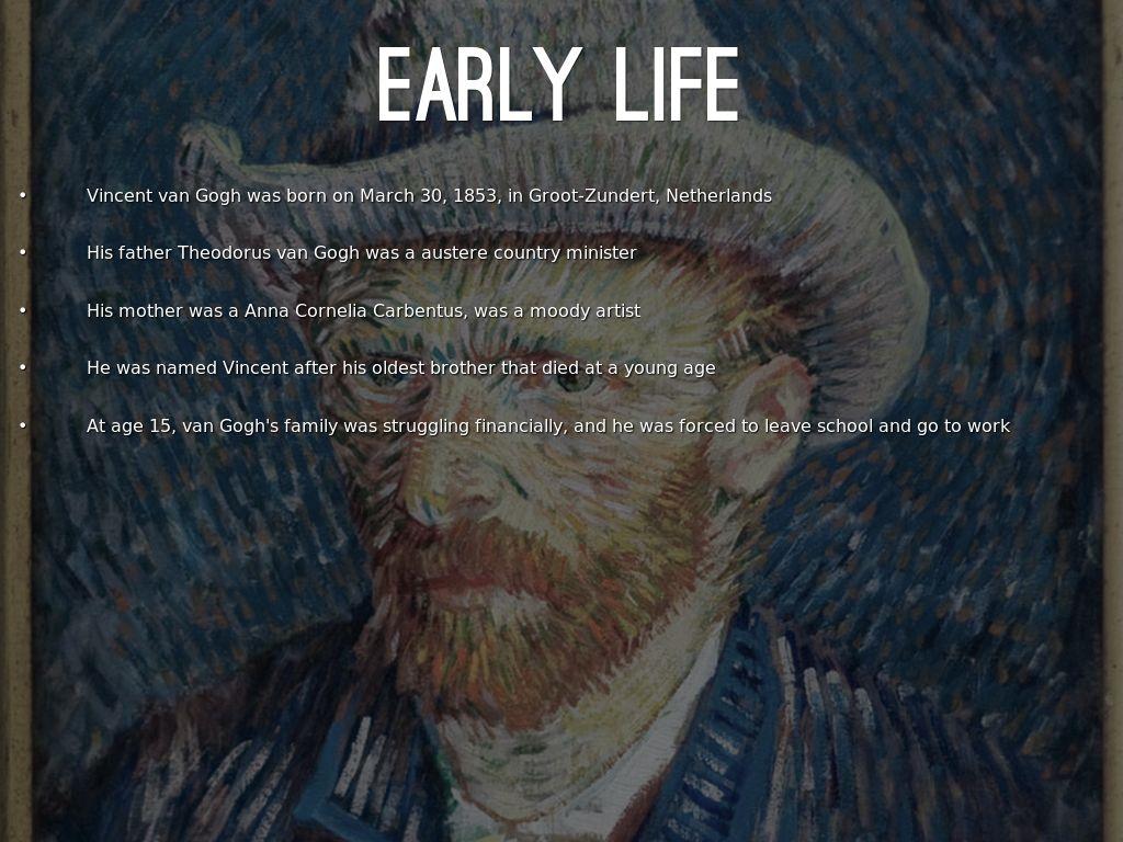 Vincent Van Gogh By Gabifakhoury