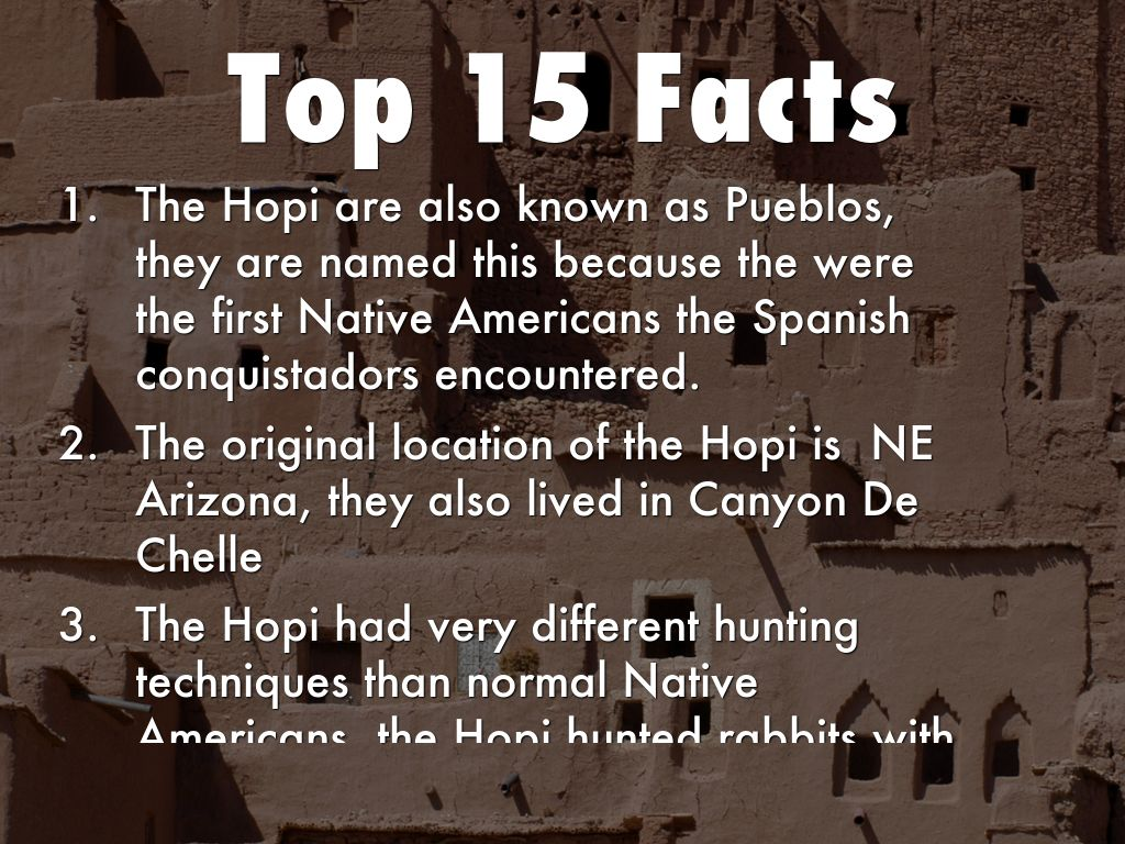 Hopi Native Americans By Browng