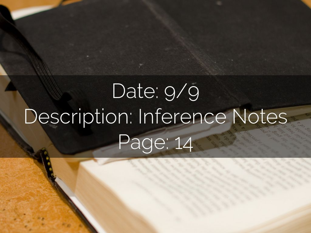 Nature Of Science Inferences By Amanda Brown