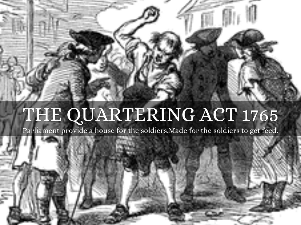 List Of Synonyms And Antonyms Of The Word Quartering Act