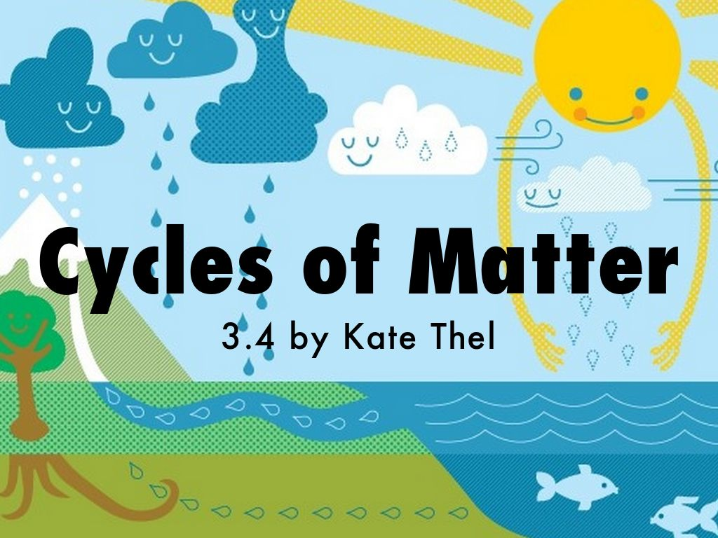 Cycles Of Matter By Kathrynthel