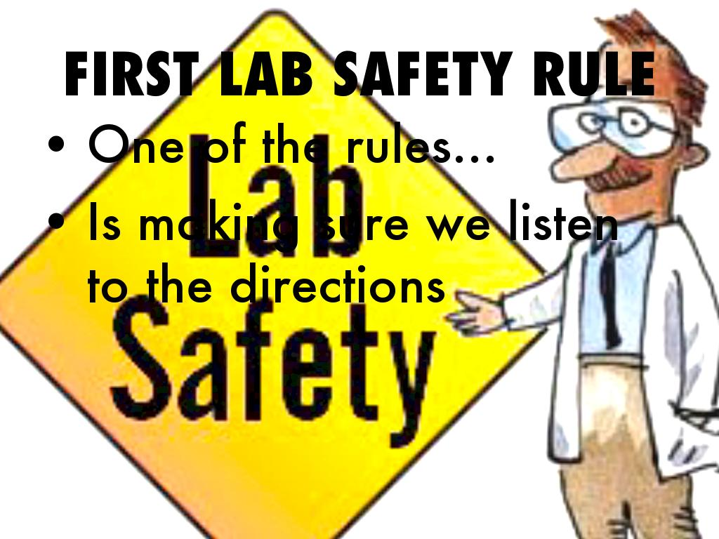 Lab Safety Rules By Rico Brown