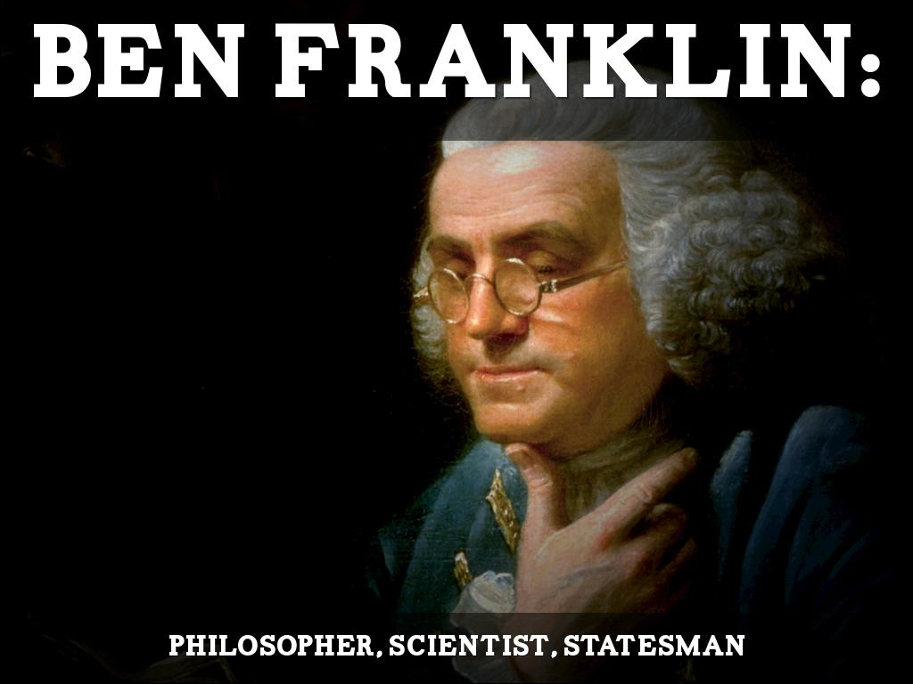 Ben Franklin Scientist By Dr Joe Wolverton