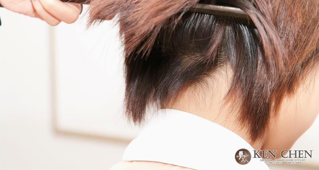 頭髮髮流倒長及頭髮過直處理流程-短髮修剪篇
