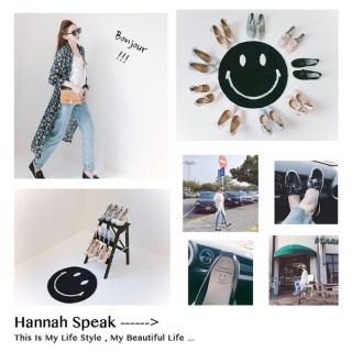 [穿搭] Grace gift X Hannah Y. 聯名鞋春夏新色上市!